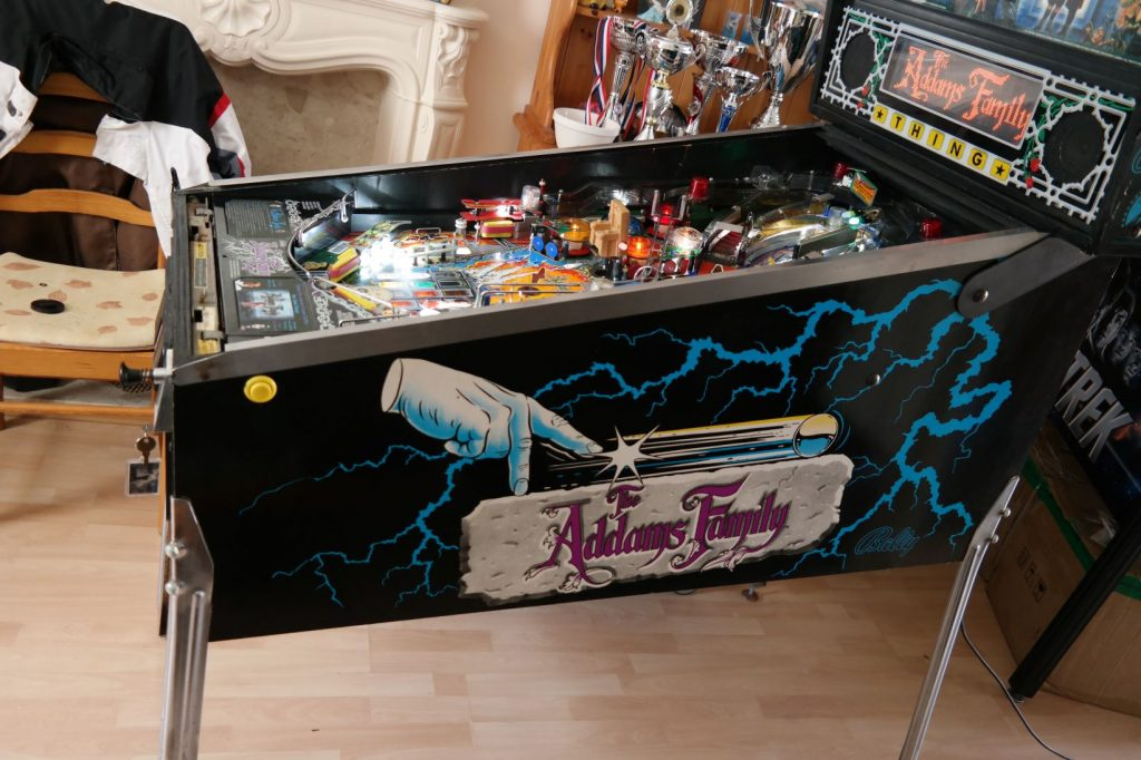 The Addams Family Pinball Machine